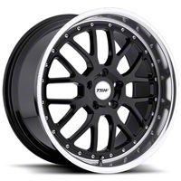 TSW Valencia Black Wheel - 19x9.5 (05-14 All) - TSW 1995VAL405114B76