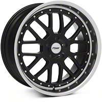 Black TSW Valencia Wheel - 20x10 (05-14 All) - TSW 2010VAL405114B76