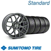 Charcoal AMR Wheel & Sumitomo Tire Kit - 19x9.5 (05-12 All)