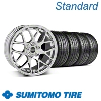 Chrome AMR Wheel & Sumitomo Tire Kit - 19x9.5 (05-12 All)