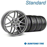 Gunmetal Forgestar F14 Wheel & Sumitomo Tire Kit - 18x9 (05-14 All) - Forgestar KIT||29614||63008