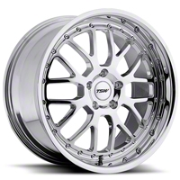 TSW Valencia Chrome Wheel - 18x9.5 (94-04 All) - TSW 1895VAL205114M76