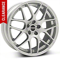 AMR Silver Wheel - 19x8.5 (05-14 All) - American Muscle Wheels T724-19x8.5-30-Silver