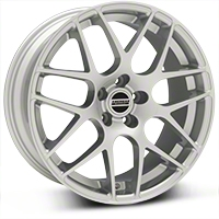 AMR Silver Wheel - 19x8.5 (2015 All) - American Muscle Wheels 33803G15