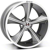Shelby CS70 Gunmetal Wheel - 20x9 (05-14 All) - Shelby CS70-295430-G