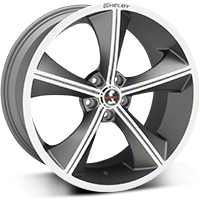 Shelby CS70 Gunmetal Wheel - 20x10 (05-14 All) - Shelby CS70-215455-G