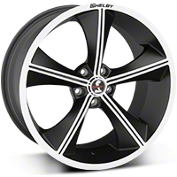 Shelby CS70 Matte Black Wheel - 20x10 (05-14 All) - Shelby CS70-205445-MB