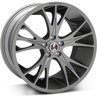 Gunmetal Shelby CS1 Wheel - 20x11 (05-14 All) - Shelby CS1-215455-G
