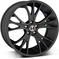 Shelby CS1 Matte Black Wheel - 20x9 (05-14 All) - Shelby CS1-295430-B