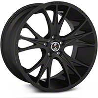 Shelby CS1 Matte Black Wheel - 20x11 (05-14 All) - Shelby CS1-215455-B