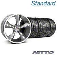 Shelby CS70 Gunmetal Wheel & NITTO Tire Kit - 20x9 (05-14 All) - Shelby 33900||76005||KIT