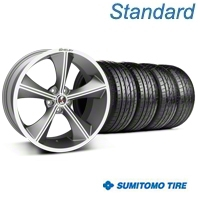 Gunmetal Shelby CS70 Wheel & Sumitomo Tire Kit - 20x9 (05-14 All) - Shelby KIT||33900||63024
