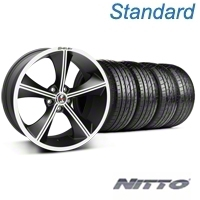 Matte Black Shelby CS70 Wheel & Sumitomo Tire Kit - 20x9 (05-14 All) - Shelby KIT||33902||63024