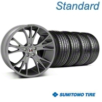 Gunmetal Shelby CS1 Wheel & Sumitomo Tire Kit - 20x9 (05-14 All) - Shelby KIT||33904||63024
