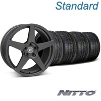 Matte Black Forgestar CF5 Monoblock Wheel & Nitto Invo Tire Kit - 19x9 (05-14 All) - Forgestar KIT||29600||79520