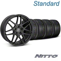 Forgestar F14 Monoblock Matte Black Wheel & NITTO INVO Tire Kit - 19x9 (05-14 All) - Forgestar 29604||79520||KIT