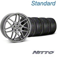 Forgestar F14 Monoblock Gunmetal Wheel & NITTO INVO Tire Kit - 19x9 (05-14 All) - Forgestar 29612||79520||KIT