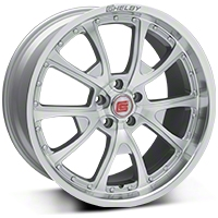 Shelby CS40 Silver Machined Wheel - 20x10 (05-14 All) - Shelby CS40-205445-S