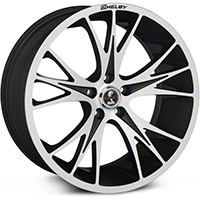 Shelby CS1 Black Machined Wheel - 20x9 (05-14 All) - Shelby CS1-295430-MB