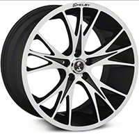Shelby CS1 Black Machined Wheel - 20x11 (05-14 All) - Shelby CS1-215455-MB