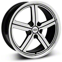 Machined Huntington Bolsa Wheel - 20x9 (05-14 All, Excluding GT500) - Huntington 2090HUB325114B70