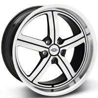 Machined Huntington Bolsa Wheel - 20x10 (05-14 All, Excluding GT500) - Huntington 2010HUB455114B70
