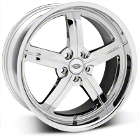 Chrome Huntington Bolsa Wheel - 20x10 (05-14 All, Excluding GT500) - Huntington 2010HUB455114C70