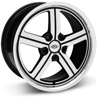 Machined Huntington Bolsa Wheel - 18x9 (05-14 All, Excluding GT500) - Huntington 1890HUB325114B70