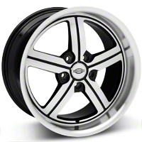 Machined Huntington Bolsa Wheel - 18x10 (05-13 All, Excluding GT500) - Huntington Wheels 1810HUB455114B70