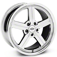 Chrome Huntington Bolsa Wheel - 18x9 (05-14 All, Excluding GT500) - Huntington 1890HUB325114C70