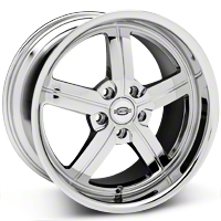 Chrome Huntington Bolsa Wheel - 18x10 (05-14 All, Excluding GT500) - Huntington 1810HUB455114C70