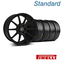 Textured Black Forgestar CF10 Monoblock Wheel & Pirelli Tire Kit - 19x9 (05-14 All) - Forgestar KIT||29846||63101