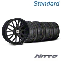 TSW Tremblant Matte Black Wheel & NITTO INVO Tire Kit - 20x8.5 (05-14 All) - TSW KIT