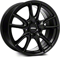 Track Pack Style Gloss Black Wheel - 18x10 (05-14 GT, V6) - American Muscle Wheels 35628