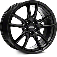 Track Pack Style Gloss Black Wheel - 19x10 (05-14 All) - American Muscle Wheels 35632