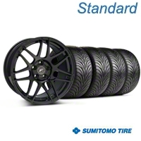 Forgestar F14 Monoblock Piano Black F14 Monoblock Wheel & Sumitomo Tire Kit - 18x9 (94-98 All) - Forgestar KIT||63005||29834