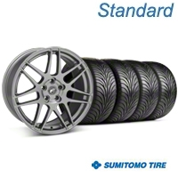 Forgestar F14 Monoblock Gunmetal Wheel & Sumitomo Tire Kit - 18x9 (99-04 All) - Forgestar 29842||63016||KIT