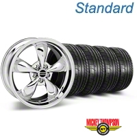 Bullitt Chrome Wheel & Mickey Thompson Tire Kit - 18x9 (05-14 GT, V6) - American Muscle Wheels 28265||79537||KIT