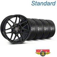 Forgestar F14 Monoblock Gloss Black Wheel & Mickey Thompson Tire Kit - 18x9 (05-14 All) - Forgestar KIT||29622