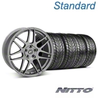 Forgestar F14 Monoblock Gunmetal Wheel & NITTO Tire Kit - 20x9 (05-14) - Forgestar KIT||29626