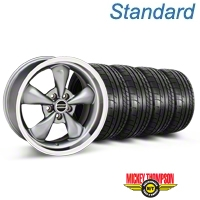 Deep Dish Bullitt Anthracite Wheel & Mickey Thompson Tire Kit - 20x8.5 (05-14 V6; 05-10 GT) - American Muscle Wheels KIT