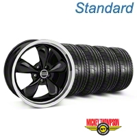 Deep Dish Bullitt Black Wheel & Mickey Thompson Tire Kit - 20x8.5 (05-14 V6; 05-10 GT) - American Muscle Wheels KIT