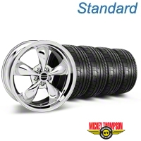 Deep Dish Bullitt Chrome Wheel & Mickey Thompson Tire Kit - 20x8.5 (05-14 V6; 05-10 GT) - American Muscle Wheels KIT