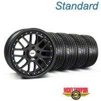 TSW Valencia Matte Black Wheel & Mickey Thompson Tire Kit - 20x8.5 (05-14) - TSW KIT