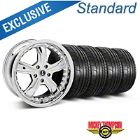 Shelby Razor Chrome Wheel & Mickey Thompson Tire Kit - 20x9 (05-14 All) - Shelby 27229||79541||KIT