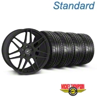 Forgestar F14 Monoblock Textured Black Wheel & Mickey Thompson Tire Kit - 20x9 (05-14) - American Muscle Wheels KIT||29624