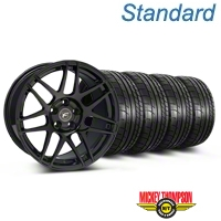 Forgestar F14 Monoblock Piano Black F14 Monoblock Wheel & Mickey Thompson Tire Kit - 20x9 (05-14) - Forgestar KIT||29830