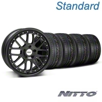 TSW Valencia Matte Black Wheel & NITTO INVO Tire Kit - 20x8.5 (05-14) - TSW KIT