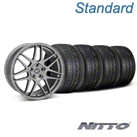 Forgestar F14 Monoblock Gunmetal Wheel & NITTO INVO Tire Kit - 20x9 (05-14) - Forgestar KIT||29626