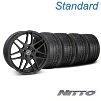 Forgestar F14 Monoblock Matte Black Wheel & NITTO INVO Tire Kit - 20x9 (05-14) - Forgestar KIT||29628